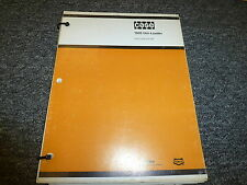 Case 1835 Uniloader Skid Steer Loader Parts Catalog Manual Book 81091