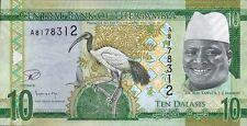 Gambia 10 Dalasis (2015) Pick 32 (1)