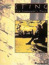 Sting : Ten Summoner's Tales (1994, Paperback) Guitar Tab Song Book