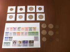 Collection Lot of 23 Hong Kong Coins 1901-1982 and 25 Stamps