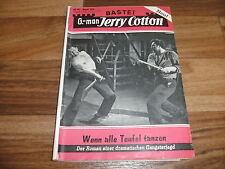 G-man:  JERRY COTTON  # 194  -- wenn alle Teufel tanzen // Impressum 1.7.1960