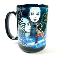 Cirque Du Soleil Enchanted Coffee Mug Cup Acrobats Tea Circus Acrobats Fantasy