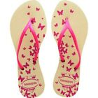 Havaianas Womens slim Flip Flops imported from Brazil many colors  designs
