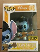 Funko pop lilo & stitch elvis stitch hot topic figura coleccion figure