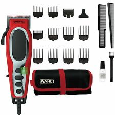Wahl Fade Pro Men's Hair Clipper Kit with Adjustable Taper & 9 Attachments Combs