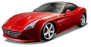 Bburago 1:18 Ferrari California T Closed Top Red Diecast Car Model NEW IN BOX