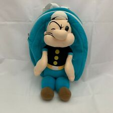 New ListingVintage Popeye Plush Backpack Purse 1999 King Features