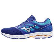 MIZUNO Women Running shoes WAVE SHADOW J1GD1730 Blue × White × Orange F/S