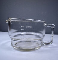 Vintage Glass Measuring Cup Corrupad Korea