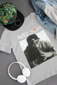 Poetic Justice Tupac Shakur 2Pac Red Heart T-Shirt Funny Vintage Gift For Men