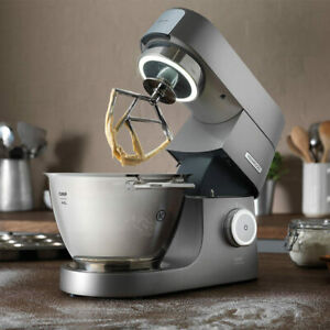 Chef Titanium Mixer 4.6L Mixing Bowl with 3 Stainless Steel Bowl Tools Included