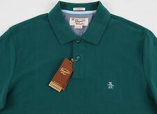 Men's PENGUIN Deep Emerald Green Polo Shirt XXL 2XL NWT NEW Classic Fit Nice!