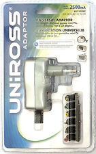 Alimentatore Universale - Uniross U0151931 - 3-12V/2500mA/17W