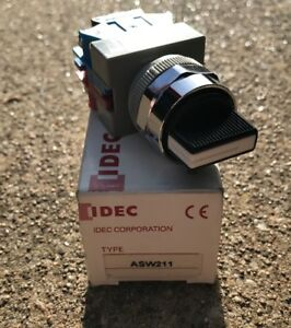 New IDEC ASW211 Selector Switch For Pilot
