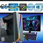 Gaming Pc Computer Bundle Intel Quad Core I7 16gb 120gb Ssd 1tb Hdd Gtx1050ti ✅