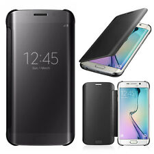 Mirror Smart Sleep View Clear Flip Hard Case Cover For Samsung S8/S7 Edge Note 7