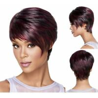 Pixie Cut Wig Women Red Afro Short Wig Ladies Cosplay Costume Party Chic Wig LAZ