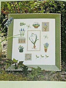 Stiel und Blüte, Buch, Christiane Dahlbeck, Kreuzstich Sticken, ähnl. Acufactum