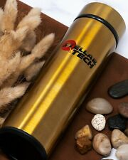 Stainless Steel Thermos Bottle Vacuum Mug Flask 16oz 470ml Gold Bronze Color