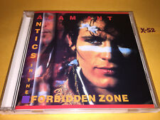 ADAM ANT cd ANTICS in FORBIDDEN ZONE hits STRIP goody two shoes KINGS WILD FRONT