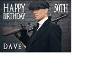 PERSONALISED PEAKY BLINDERS CILLIAN MURPHY A5 BIRTHDAY CARD ANY NAME AGEgreeting