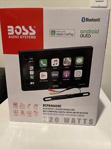 Boss Audio Apple Car Play Android Multimedia Player w/Rearview Camera BCPA9685RC
