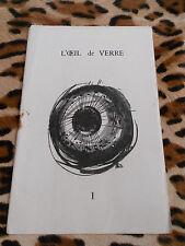 L'Oeil de Verre, revue poétique fondée par Ph. Orzoni et A. Mas - n° 1, 1959