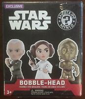 Pop Funko Disney Star Wars Bobble Head Mystery Blind Box Exclusive