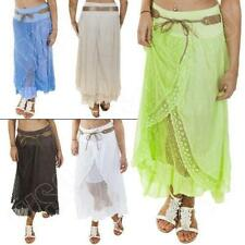 Markenlose Maxiröcke aus Baumwolle