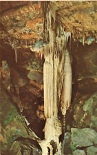 Postcard Specter Column Luray Virgina Caverns of Luray