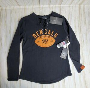 Sweatshirts BENGALS Ultra Game NFL Women's Fleece Long Sleeve medium