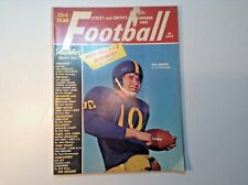 VINTAGE FOOTBALL YEARBOOK 1963-SPORTS-COLLEGE-PROS-NATIONAL & AMERICAN LEAGUE