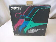 VISATON VC 200 4 Ohm 20 cm CAR AUDIO HIFI BASS altoparlanti 100/120w CHR
