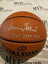 Beckett Authentic Jerry West Autograph Spalding Replica NBA Basketball w/ HOF