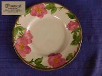 "Franciscan Desert Rose SALAD PLATE 7-3/4"" have more items ENGLAND Black B.S."