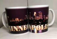 Set of two Minneapolis Skyline Coffee Mugs NEW