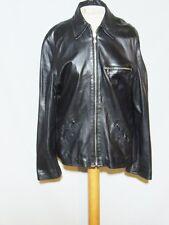 Leather Joe Soft Black Leather Jacket Euro sz 42 - MED b- 41