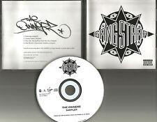 GANG STARR w/ 4 RARE SNIPPETS PROMO Radio DJ CD single 2003 USA