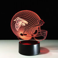 Atlanta Falcons Julio Jones Matt Ryan Collectible Home Decor Light Lamp Gift