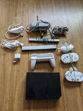 Nintendo Wii Black Console (NTSC) HOMEBREW HACKED