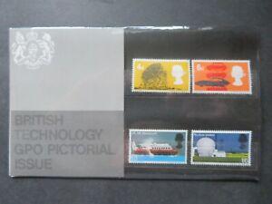 1966 British Technology Presentation Pack