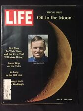 Buzz Aldrin, Armstrong & Collins July 4 1969 LIFE Special Issue OFF To The MOON