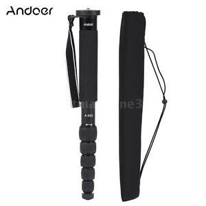 "Andoer Professional 61.4""DSLR Camera Monopod Stand Unipod Camcoder Walking Stick"