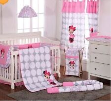 4 Piece Disney Minnie Mouse Polka Dots Baby Cot Set