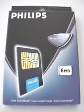 8MB Smartmedia Card ( 8 MB SM Card ) PHILIPS Neu