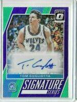 2017-18 Optic Tom Gugliotta Signature Series Purple Prizm Auto SP Timberwolves