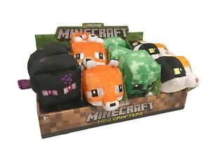 Minecraft Mini Crafter Plush Calico Cat Fox Pixel Creeper Teleporting Enderman