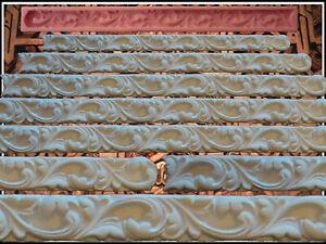 Stuck Profile Kautschuk Negativform Gießform Gips Relief Deckenverzierung (52)