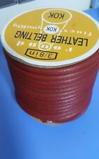 """New!Quality Leather Belt For Vintage Light Industrial Sewing Machine 3/8"""" Thick"""