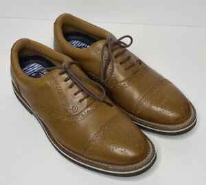G/Fore x Peter Millar Brogue Gallivanter Golf Shoe Size 9